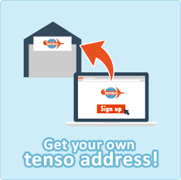 Register at tenso.com and get your