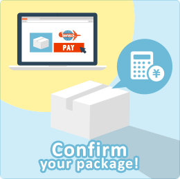 Package confirmation and payment