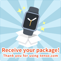 Receive your package! Thank you for using tenso.com